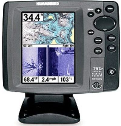 humminbird 4067701cho model 797c2 si combo color fish finder and, Fish Finder
