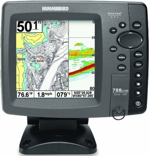 humminbird 407950-1 model 788ci hd combo gps chartplotting, Fish Finder