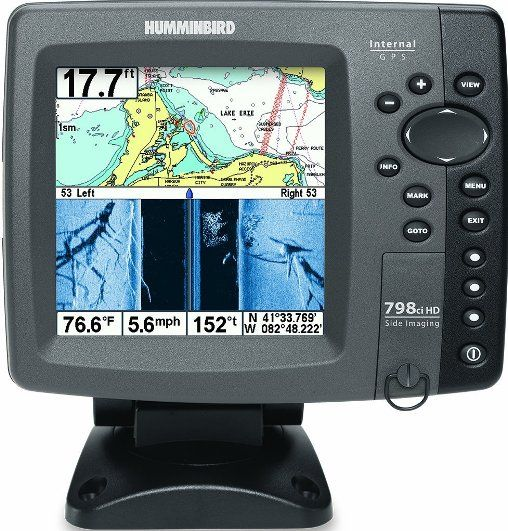 humminbird 407970-1 model 798ci hd si combo fishfinder gps system, Fish Finder