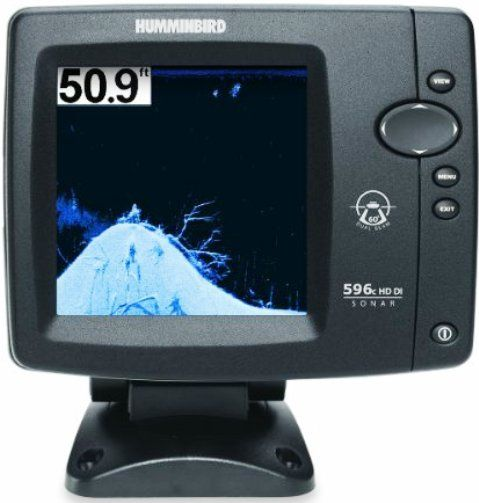 Humminbird 408110 1 model 596c hd di fishfinder down imaging dualbeam