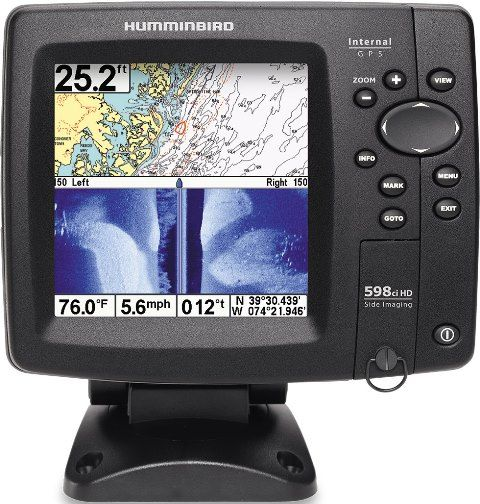 humminbird 408950-1 model 598ci hd si combo fishfinder gps system, Fish Finder