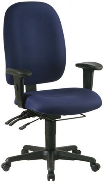 Office Star 43998 Dual Function Super Ergonomic Office Chair ...