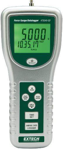 Digital Deflection Meter : Extech sd digital force gauge datalogger g