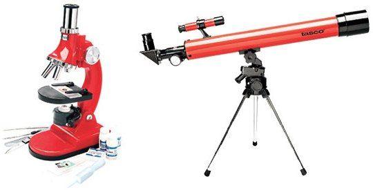 Tasco 49TN 50x50mm Telescope/Microscope Combo, DTS Surround