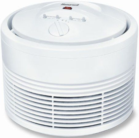 Honeywell 50101 True HEPA Round Air Purifier Maximum Coverage Area