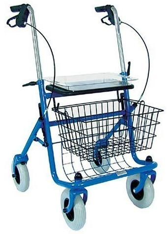 Duro-Med 501-1013-0100 S Traditional Steel Rollator, Large 8