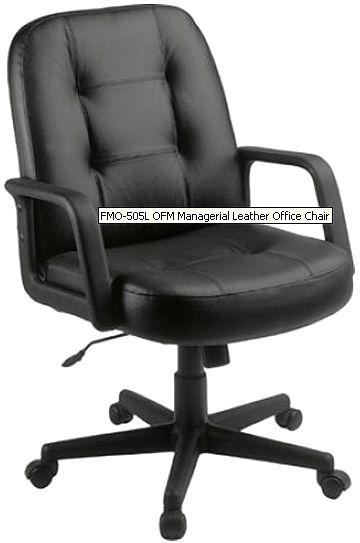 Ofm 505l executive conference chair low back 3 thick for Waterfall seat design