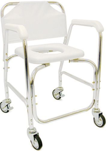 Sensational Mabis 522 1702 1900 Shower Transport Chair Helps Provide Ncnpc Chair Design For Home Ncnpcorg