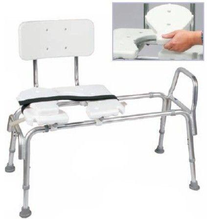 Duro Med 522 1734 1900 Heavy Duty Bath Transfer Bench With