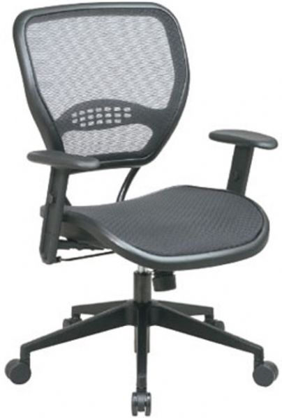 Office Star 5560 Space Collection Air Grid Back and Seat Task