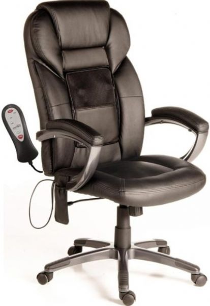 Comfort products 60 6821 shiatsu massage executive office for Gaming shiatsu massage chair