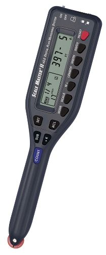 Calculated Industries 6130 Advanced Digital Plan Measure, Scale Master II, 91 built-in scales, Custom scales, 7 Digit LCD Display (CALCULATED6130,6130 ScaleMaster II Scale MasterII Scale Master-II)