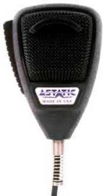 Astatic 636L-DX1X Black CLassic Edition Noise Canceling Microphone, Polyurethane coated steel grille screen, Dynamic noise canceling element assures clarity in noisy conditions, Super high quality heavy duty 7 1/2 foot cord, Amplified electret noise canceling type, Output level: Open circuit, -58 dB (0 dB = 1 nw/10 microbars) (636LDX1X 636L-DX1 636L DX-1 DX-1X 636LDX1)