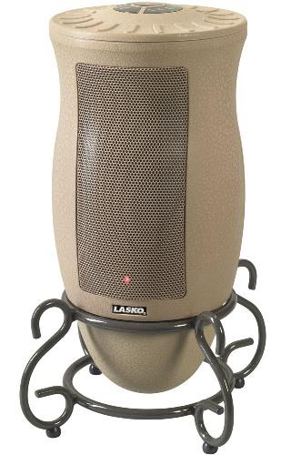 Lasko 6435 Designer Series Oscillating Ceramic Heater with