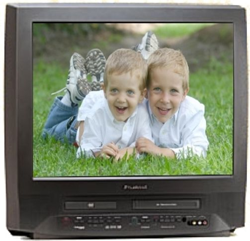 Sylvania 6727db Remanufactured 27 Inch Tvvcrdvd Combowith Built In