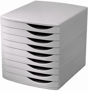 Axcess 6862591 Desktop Organizer 9 Drawer High Capacity