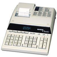 monroe 7140 heavy duty desktop printing calculator 28 digit