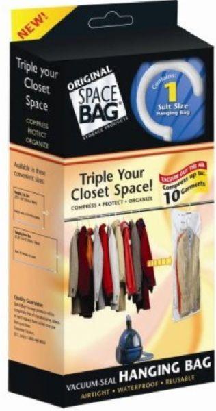 a6100c514252 Space Bag 731810557001 model WBR-5700 Vacuum-Sealing Hanging-Suit Storage  Bag