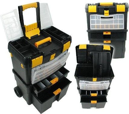 Trademark 75 2050 Deluxe Mobile Workshop And Toolbox Top