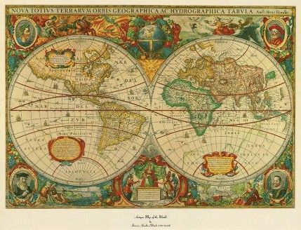 Trademark 75 220wm old world map painting extra large artwork trademark 75 220wm old world map painting extra large artwork dimensions 36 inches high x 48 gumiabroncs Image collections