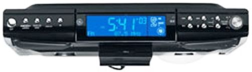 GE 75400GE Spacemaker Digital AM/FM CD Player With TV/Weatherband, Storage  Area