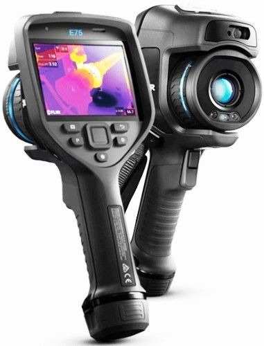 FLIR 78502-0101 Model E75-24 Advanced Thermal Camera with MSX and 24° Lens, 320x240 IR Resolution/30Hz, 17 mm (0.67