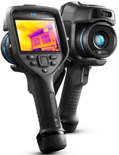 FLIR 78502-0201 Model E85-24 Advanced Thermal Camera with MSX and 24° Lens, 384x288 IR Resolution/30Hz, 17 mm (0.67