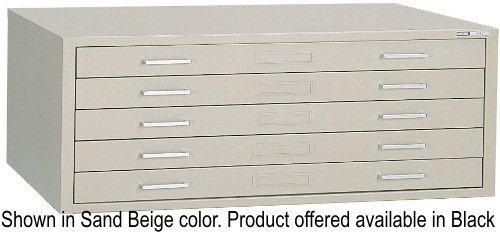 Mayline 7868CB Steel Plan Files, C-Files Series, Five Drawer Flat ...
