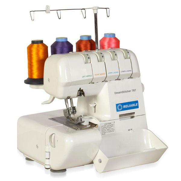 Reliable DREAMSTITCHER 40 Sewing Machine Differential Feed Cool Auto Tension Sewing Machine