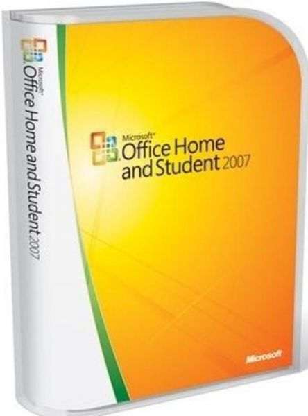 Microsoft 79G-00007 Office Home and Student 2007, Microsoft Excel, Microsoft Powerpoint, Microsoft Word, Microsoft OneNote Software Suite Components, 3 PC in one household License Qty, Non-commercial License Pricing, Windows Platform, CD-ROM Distribution Media, UPC 882224165242 (79G 00007 79G00007)