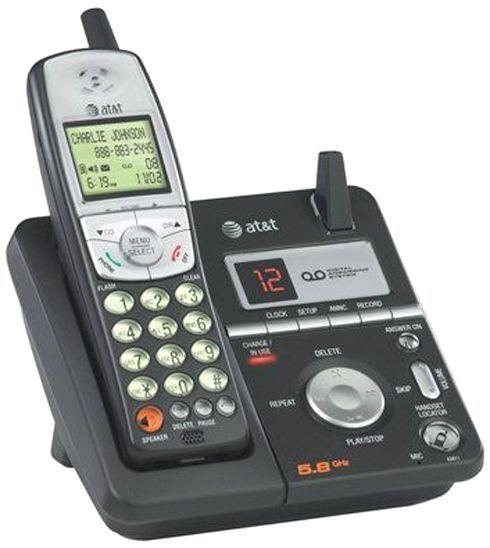 at t vtech 80 6111 00 model e5811 callerid call waiting itad phone 5 8ghz handset speakerphone. Black Bedroom Furniture Sets. Home Design Ideas