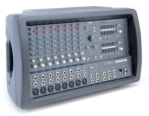 mackie 808s 8 channel powered stereo mixer with 32 bit digital effects 808 s 808 s sale. Black Bedroom Furniture Sets. Home Design Ideas