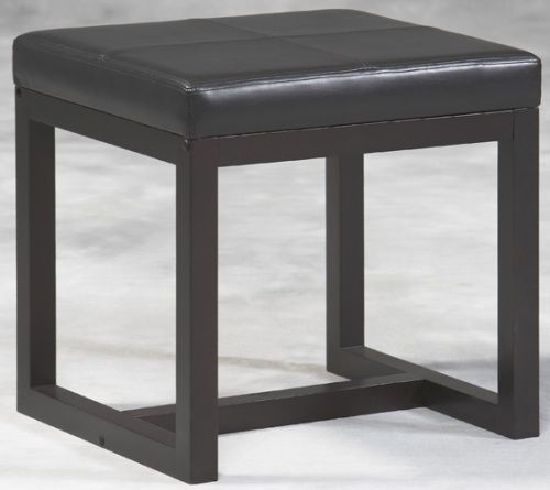 Linon 81033c70 01 Kd U Alden Black Ash Small Bench Black Ash Finish The Bench Is Topped With A