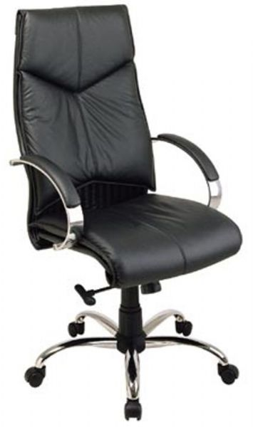 office star 8200 deluxe high back executive leather chair with