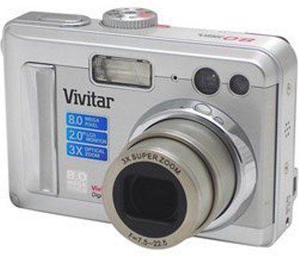 vivitar 8400 digital camera with 3x optical zoom and 2 0 tft lcd rh salestores com Vivitar ViviCam 5024 Vivitar ViviCam 5118