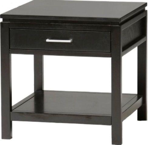 Linon 84028blk 01 Kd U Sutton End Table Black Finish 1