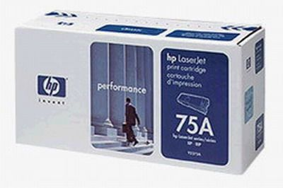 hp hewlett packard 92275a black laserjet print cartridges