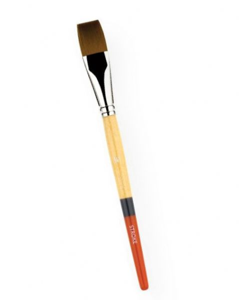 Princeton 9650ST-075 Snap! Golden Taklon Short Handle Brush Watercolor and Acrylic Brush Stroke .75; Holds lots of color, points well, and has good snap with attractive, bold tri-color handle; Good quality, economically priced; Shipping Weight 0.04 lb; Shipping Dimensions 0.8 x 0.75 x 0.75 in; UPC 757063965158 (PRINCETON9650ST075 PRINCETON-9650ST075 SNAP!-9650ST-075 PRINCETON/9650ST075 9650ST075 ARTWORK PAINTING)