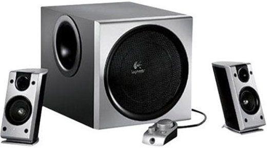 logitech 970118 0403 model z 2300 pc multimedia speaker system 200 watt 8 inch long throw. Black Bedroom Furniture Sets. Home Design Ideas
