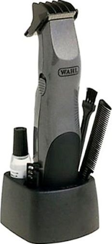 wahl 9906 717 groomsman beard mustache trimmer kit includes cordless battery operated trimmer. Black Bedroom Furniture Sets. Home Design Ideas