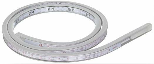 Alvin A1044-32 Lightweight Flexible Curve White 32