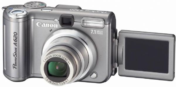 Canon A620 Digital Camera, Resolution 7.4 Megapixel ...