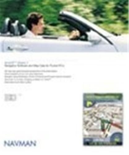 Navman AA008007 Software SmartST Version 2.0 Euro Maps for Navman iCN 630/635 (AA008007 AA0-08007 SMART-ST SMARTST-V2)