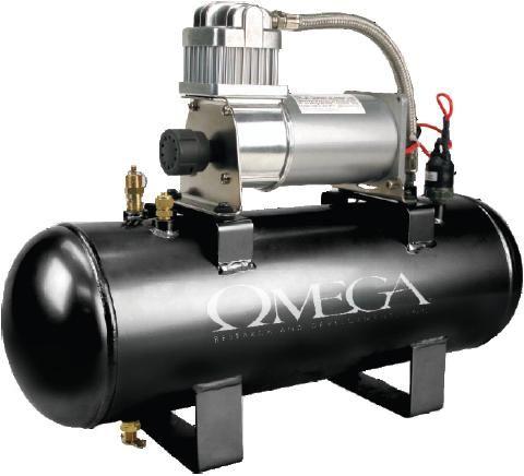 Omega Ac 200 Psi 200psi 12v 2 Gallon Oil Less Air