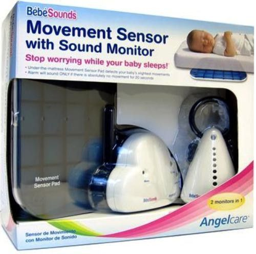 bebe sounds ac201 angelcare movement sensor with sound monitor movement sensor pad detects baby. Black Bedroom Furniture Sets. Home Design Ideas