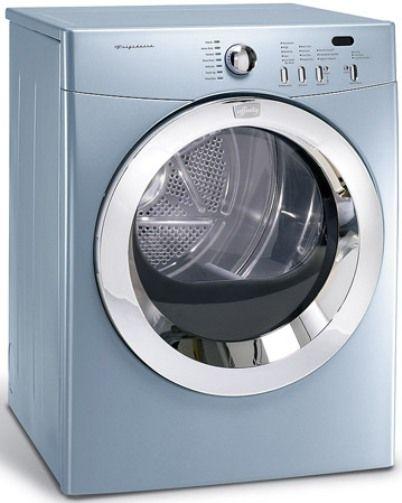 frigidaire aeq8000fg affinity front load electric dryer glacier blue 5 8 cu ft super capacity drum