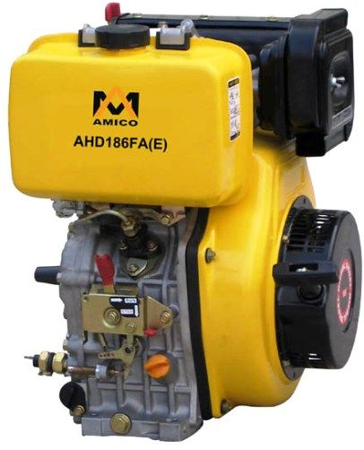 amico ahdfe hprpm diesel engine starting system electric starter recoil starter