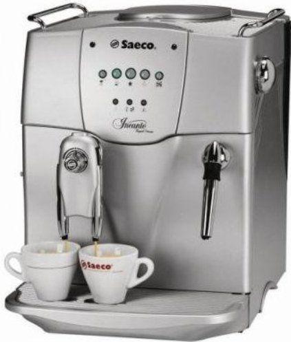 Coffee Maker With Bean Hopper : Saeco A-IC-SS model Incanto Classic Automatic Espresso Machine, 10 oz Capacity of the bean ...