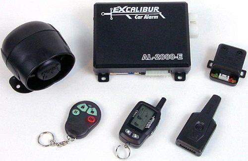omega al 2000 edp excalibur two way vehicle security. Black Bedroom Furniture Sets. Home Design Ideas