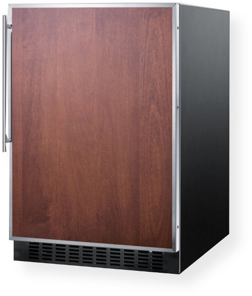 Summit AL652BBIFR ADA Compliant Built In Undercounter Refrigerator Freezer Wi